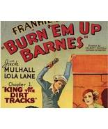 BURN 'EM UP BARNES, 12 Chapter Serial - $19.99
