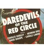 Daredevils of the Red Circle, 12 Chapter Serial - $19.99
