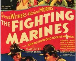 THE FIGHTING MARINES, 12 Chapter Serial - $19.99