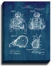 Life Preserver Patent Print Midnight Blue on Canvas - $39.95+
