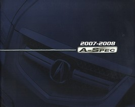 2007/2008 Acura A-SPEC parts accessories brochure catalog TSX TL RL Honda - $8.00