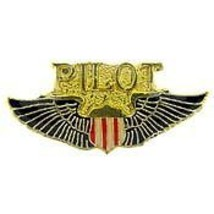 "PRIVATE PILOT WING  LAPEL PIN   1 1/16"" FREE SHIPPING - $13.53"