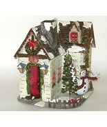 Kohls Metal House Christmas Lamp Candle Holder ... - $18.00