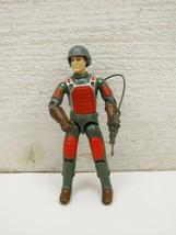 G.I Joe Vintage 1982 Flash Figure Straight Arm Pack & Weapon Helmet / No... - $48.48