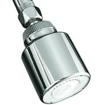 Kohler Shower Head Coralais Adjustable Single Function 2.5 gallon K-11742 Chrome - $10.89