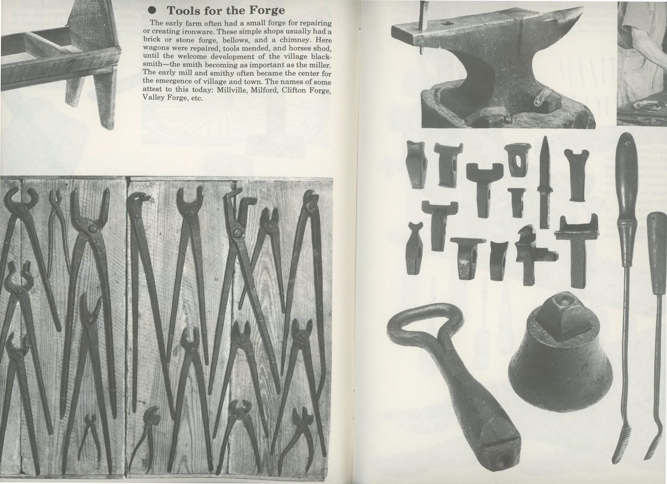Early Tools Equipment Smith book antique blacksmith planes collecting vintage