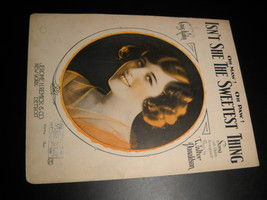 Sheet Music Oh Maw Oh Paw Isn't She The Sweetest Thing Gus Kahn 1925 Don... - $8.99
