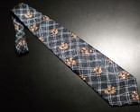 Tie structure blue two tone with orangish flowers 04 thumb155 crop