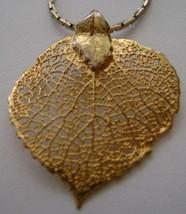 Necklace, Aspen Leaf  - $15.00