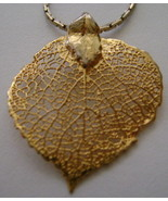 Necklace, Aspen Leaf  - $15.00