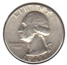 Nice 1941 P Washington Quarter - $9.95