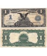 Black Eagle Silver Certificate 1899 1 dollar Fr 236 - ₨5,585.98 INR