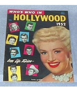 Dell Who's Who in Hollywood Magazine 1952 Motion Picture Movie  - $25.00