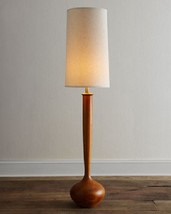 "Mid Century Modern Wooden Tulip Retro Floor Lamp Contemporary Wood 64""H ... - $549.45"