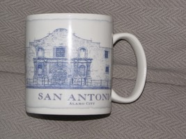 Starbucks 2008 San Antonio Alamo City Architecture Series Coffee Mug 18 oz - $29.69