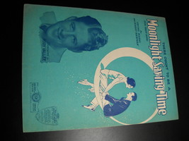 Sheet Music There Ought to Be A Moonlight Saving Time Rudy Vallee Irving... - $8.99