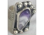 Purple glass ring sr112 thumb155 crop
