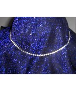 Faux Diamond Choker Necklace - $22.95