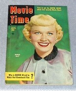 Movie Time Magazine Jan 1952, Vol1 No.2  Russell Garbo Gable - $7.95
