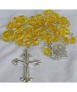 A lemon rosary - $25.00