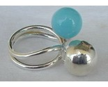Turquoise silver pearls a thumb155 crop