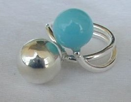 Turquoise silver pearls c thumb200