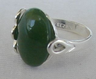 Primary image for Green silver ring