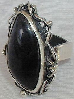 Primary image for Onyx pitulim ring