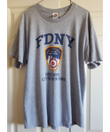 T-Shirt Fire Department City Of New York FDNY Mens Large - $7.99