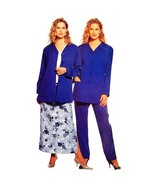 Misses Cardigan Pants Skirt McCalls 2461 Sewing Pattern Vintage Size 8-1... - $5.99