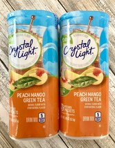 Crystal Light Peach Mango Green Tea Drink Mix, 10 Quart Canister Exp 202... - $28.70