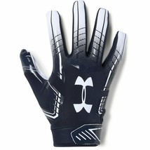 Under Armour Men's F6 Football Gloves X-Large Midnight Navy (410)/White - $34.64