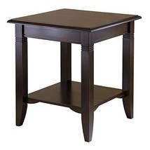 Winsome Wood 40220 Nolan Occasional Table, Cappuccino - $71.19