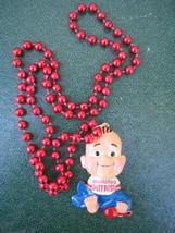 Boudreaux's Butt Paste Baby Mardi Gras Necklace New - $7.00