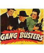 GANG BUSTERS, 13 Chapter Serial - $19.99