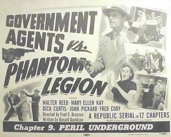 Primary image for GOVERNMENT AGENTS Vs PHANTOM LEGION, 12 Chapter Serial