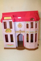 Fisher Price Loving Family Manor Dollhouse Mansion Pink Purple Building ... - $49.95