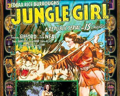 JUNGLE GIRL, 15 Chapter Serial