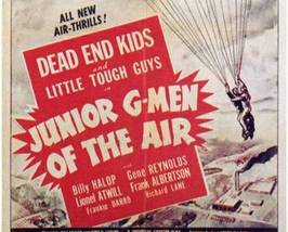 JUNIOR G-MEN OF THE AIR, 12 Chapter Serial - $19.99