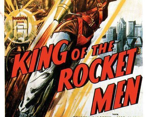 KING OF THE ROCKETMEN, 12 Chapter Serial