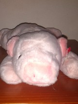 Retired TY Original Beanie Buddy SQUEALER the Pink Pig Stuffed Toy Very ... - $26.00