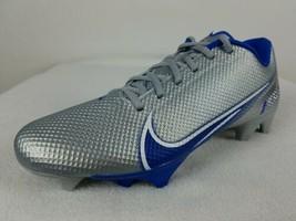 Nike Vapor Edge Speed 360 Football Cleats Men's Size 9-12 Gray Blue CD0082-010 - $59.99+