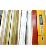 8 Vintage Slide Rule and Ruler Lot ALVIN STERLING AND DIETZGEN - $140.29