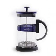Max Brew 32oz Glass Coffee Press, Blue - €31,75 EUR