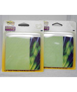 3M Post It Super Sticky Note Office Pads Green ... - $3.75