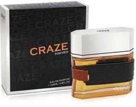Armaf Craze Perfume For Men 3.4oz/100ml Eau De Parfum Luxury French Frag... - $27.54
