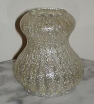 Dugan Japanese Stripe Spatter Art Glass Double Gourd Vase  - $125.00