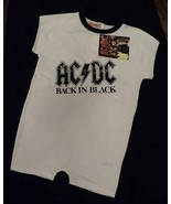 AC/DC ACDC Baby Onesie Romper Suit Official 12-18 Months New with Tags - $12.99