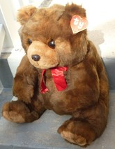 "Vintage 1990 Classic TY Plush LARGE McGEE Teddy Bear 20"" with skinny Y h... - $179.99"