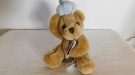Russ Mini Get Well Bear Brown with ice pack - $11.30